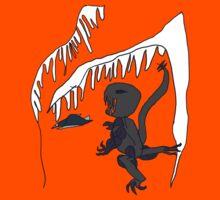 Ice-cave Dinosaur Kids Tee