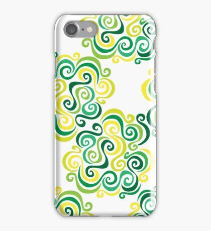Swirly Emblem Pattern iPhone Case/Skin