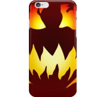 Evil Jack O' Lantern iPhone Case/Skin
