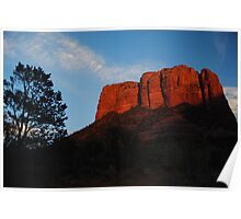 Courthouse Butte Poster