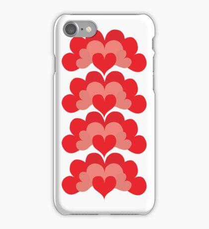 Heart Fan Pattern iPhone Case/Skin