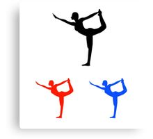 Yoga pilate  Canvas Print