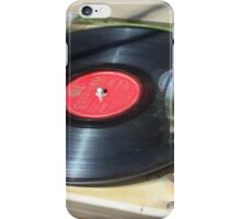 Turning Old Vinyl  iPhone Case/Skin
