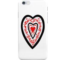 Ben's Heart iPhone Case/Skin