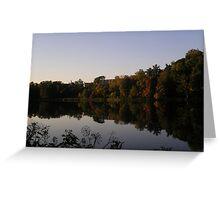 Beebe Lake 2 Greeting Card