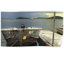 Big Lake Afternoon Monsoon Poster