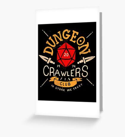 Dungeon Crawlers Club Greeting Card