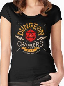Dungeon Crawlers Club Women's Fitted Scoop T-Shirt