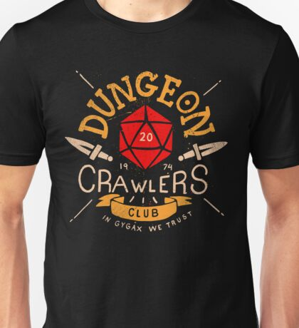 Dungeon Crawlers Club Unisex T-Shirt