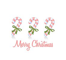 Candy Cane Merry Christmas by sweettoothliz
