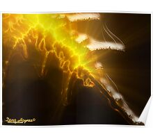 Flaming Sword Of Truth Poster