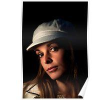 Ellie in her hat Poster