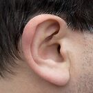 Male Right Ear by Natalie Kinnear