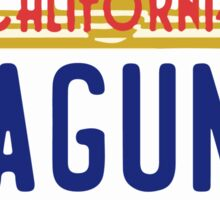 Laguna Beach - California. Sticker