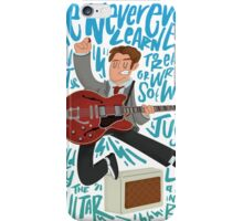 Guitar Heroes - Marty McFly  iPhone Case/Skin