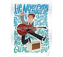 Guitar Heroes - Marty McFly  Poster