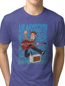 Guitar Heroes - Marty McFly  Tri-blend T-Shirt