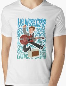 Guitar Heroes - Marty McFly  Mens V-Neck T-Shirt