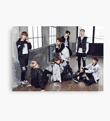 BTS/Bangtan Sonyeondan - Photoshoot 2015 #3 Canvas Print