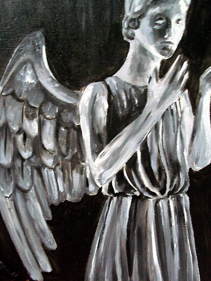 Weeping Angel by debzandbex