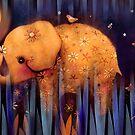 daisy's night garden by © Karin  Taylor