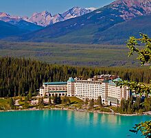 Canada. Lake Louise. Chateau Lake Louise. by vadim19