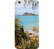 Tranquil bay through the trees iPhone Case/Skin