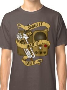 Snag It, Bag It, and Tag It! Classic T-Shirt