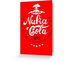 Drink Nuka Cola Greeting Card