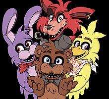 Five Nights at Freddy's! by InkyBlackKnight