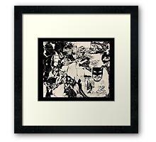 Bat dan Framed Print