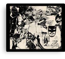 Bat dan Canvas Print