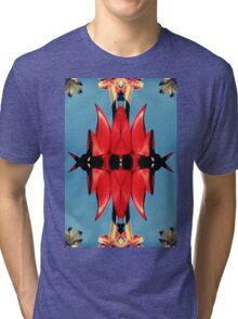 Retro Sturt's Red Pea Tri-blend T-Shirt