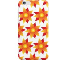 Firery Pinwheel Pattern iPhone Case/Skin