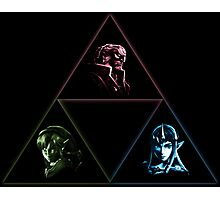 Wielders of the Triforce Photographic Print
