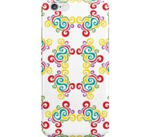 Swirly Frame Pattern iPhone Case/Skin