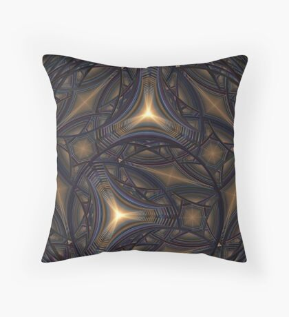 Go To The Light Throw Pillow