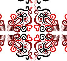 Calligraphic Motif by Wealie