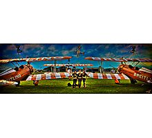 Early That Morning At the Airfield....... Photographic Print