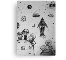 Interstellar hunting Canvas Print