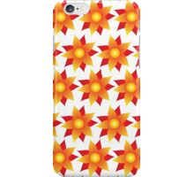 Firery Pinwheels Pattern iPhone Case/Skin