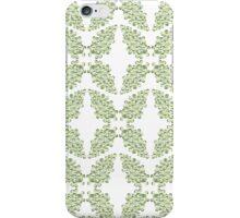 Green Curlicules iPhone Case/Skin