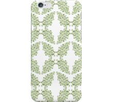 Green Curlicules iPhone Case/Skin