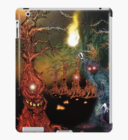 Great Hall of the gnarly Tree Keeper iPad Case/Skin