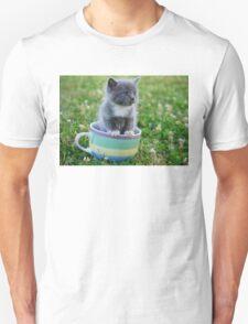 Tea Cup Kitty T-Shirt