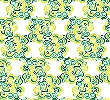 Swirly Emblem Pattern by Wealie