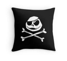 Jolly Jack Roger Throw Pillow