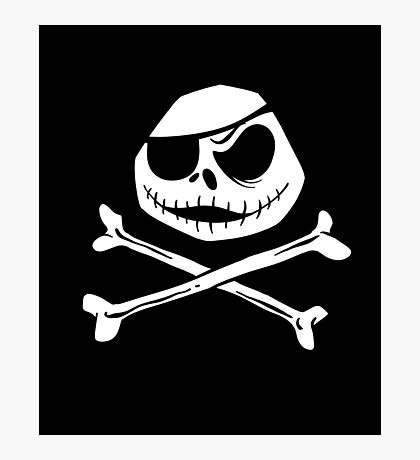 Jolly Jack Roger Photographic Print