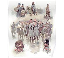 Georges Scott Bulgarian Soldiers Of The Balkan Wars Poster