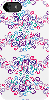 Swirlycules Pattern by Wealie